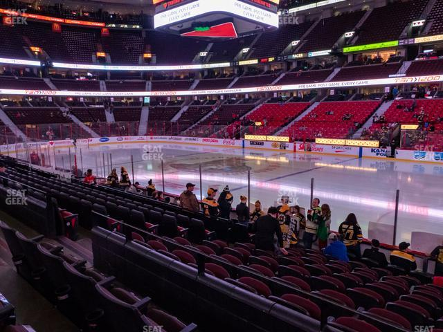 Canadian Tire Centre Section 114 view