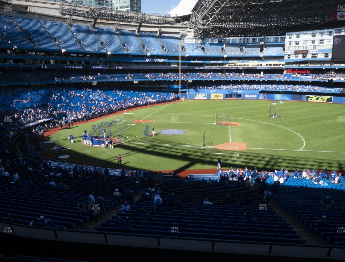 Toronto Blue Jays at Rogers Centre Section 218 R View