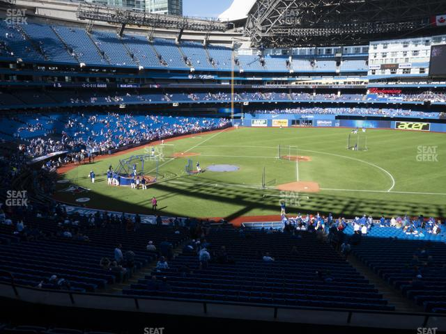 Rogers Centre Section 218 R view