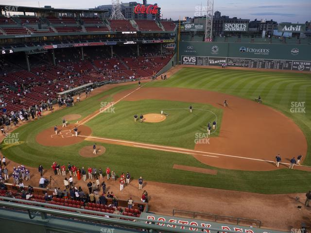 Fenway Park State Street Pavilion Club 7 view