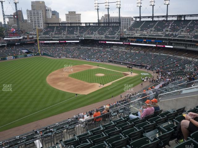 Comerica Park Section 339 view