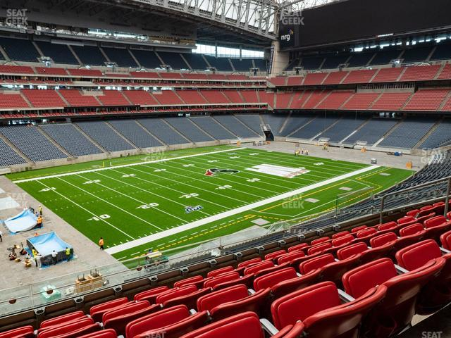 NRG Stadium Section 342 view