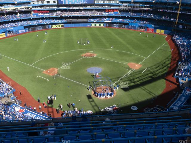 Rogers Centre Section 525 L view