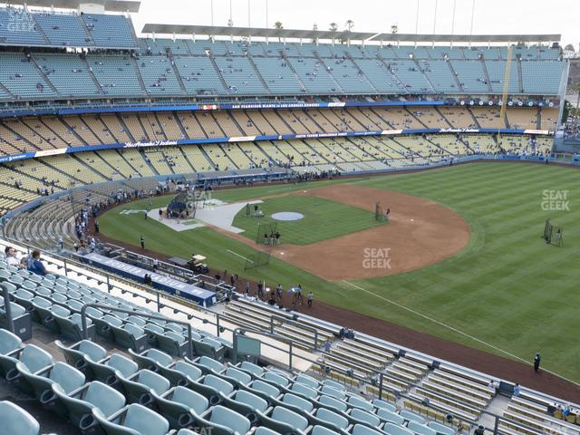 Dodger Stadium Reserve 36 view