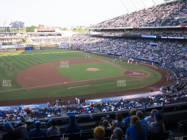 Kauffman Stadium Section 305 view