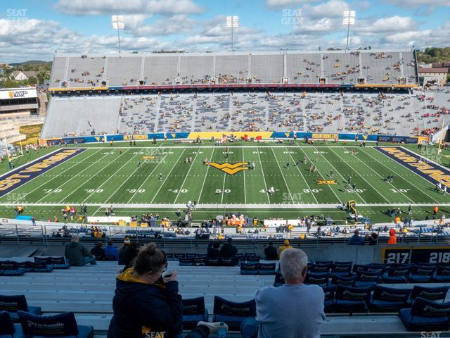 Mountaineer Field at Milan Puskar Stadium Section 217 view