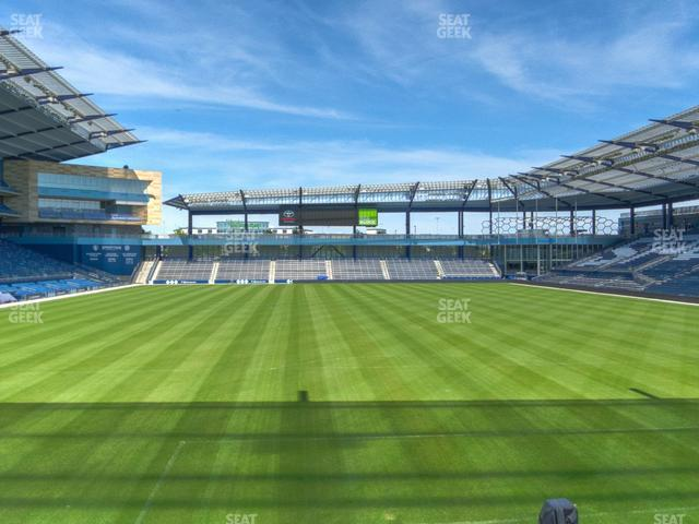 Children's Mercy Park Section 118 view