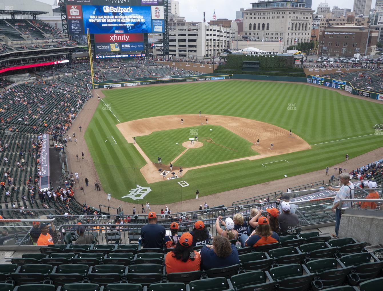 Detroit Tigers at Comerica Park Section 325 View