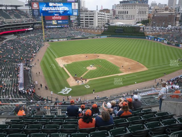 Comerica Park Section 325 view