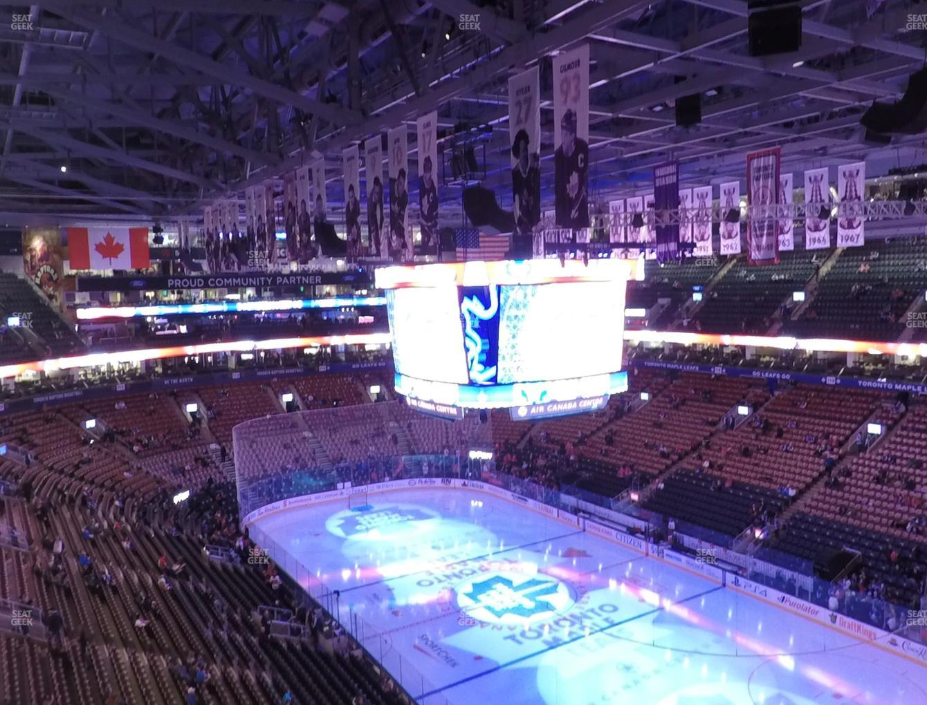 Toronto Maple Leafs at Scotiabank Arena Section 305 View