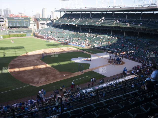 Wrigley Field Section 308 Left view