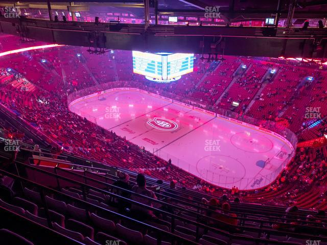 Bell Centre Section 433 view