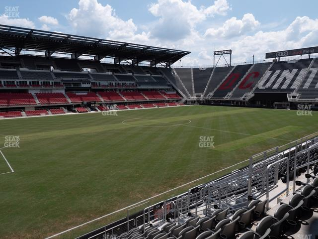 Audi Field Section 130 view