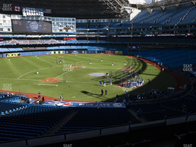 Rogers Centre TD Comfort Club 227 R view