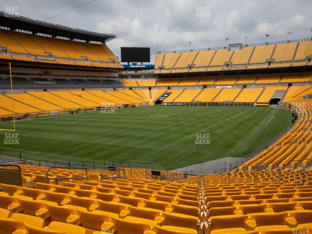 Heinz Field Section 103 view