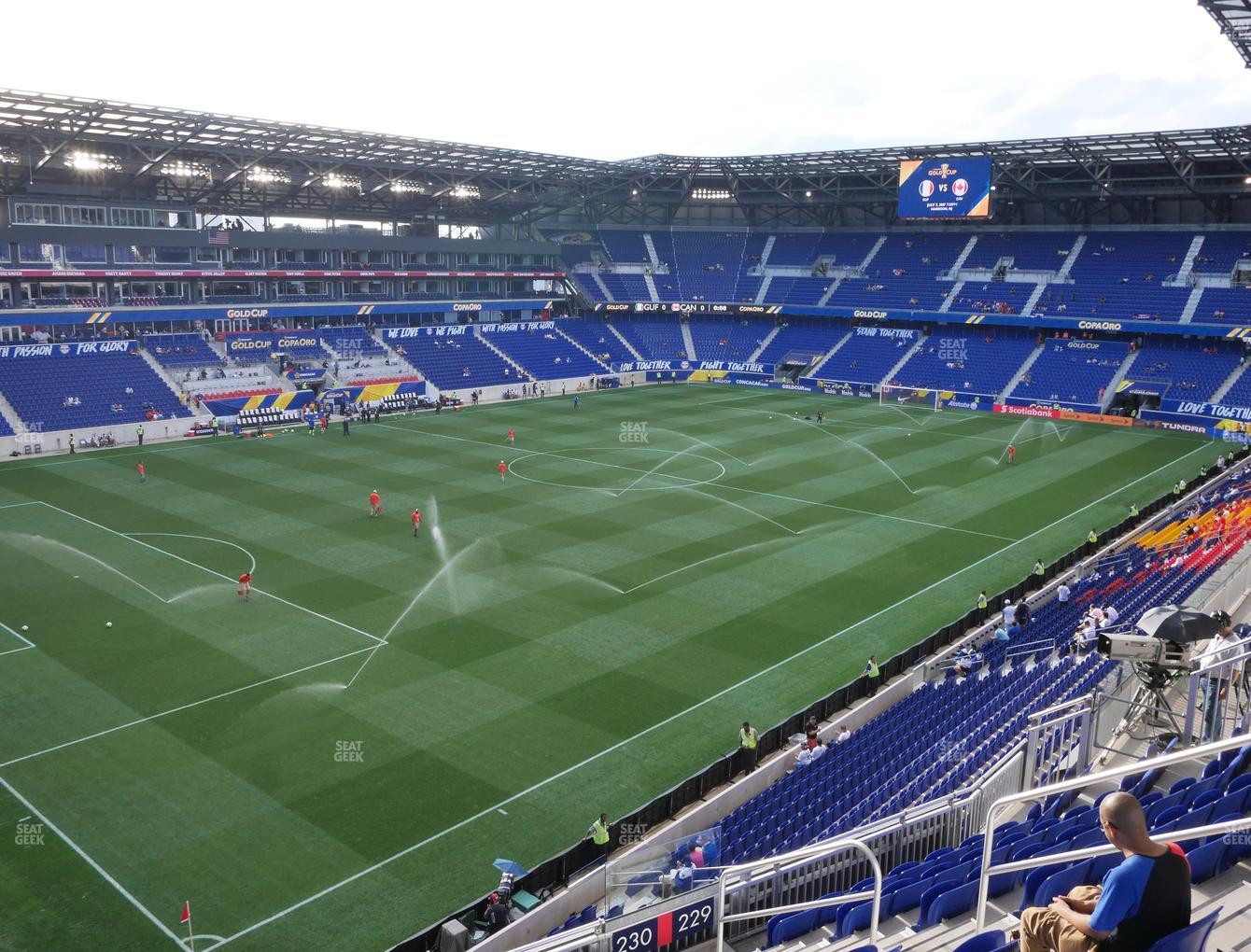 Red Bull Arena Section 230 Seat Views Seatgeek
