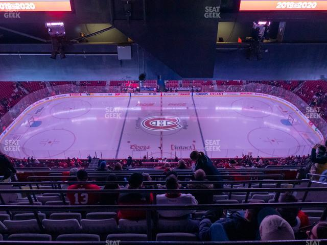 Bell Centre Section 419 view