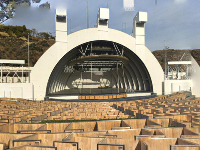 Hollywood Bowl Terrace 5 view