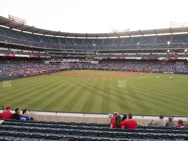 Angel Stadium of Anaheim Section 238 view
