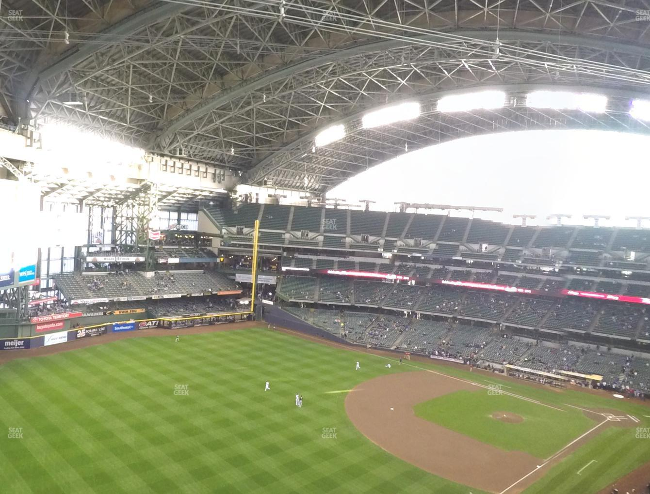 Concert at Miller Park Section 437 View