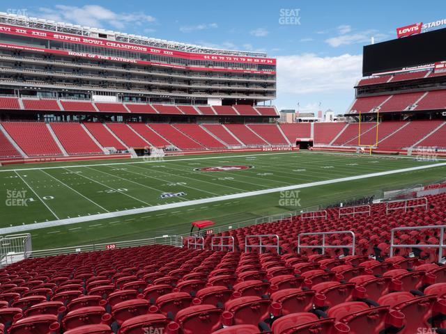 Levi's Stadium Section 120 view
