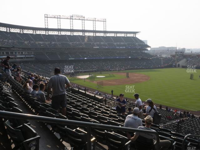 Coors Field Section 214 view