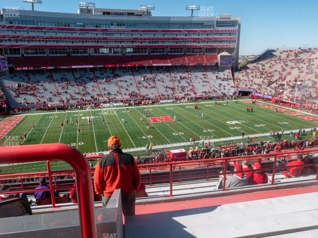 Memorial Stadium Nebraska Section 108 view