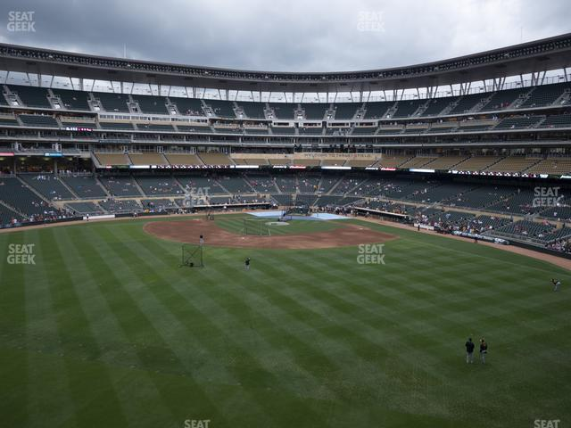 Target Field Section 233 view