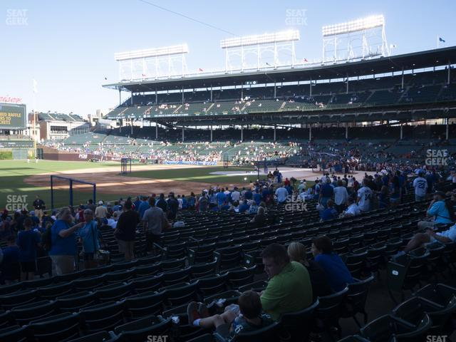 Wrigley Field Section 108 view