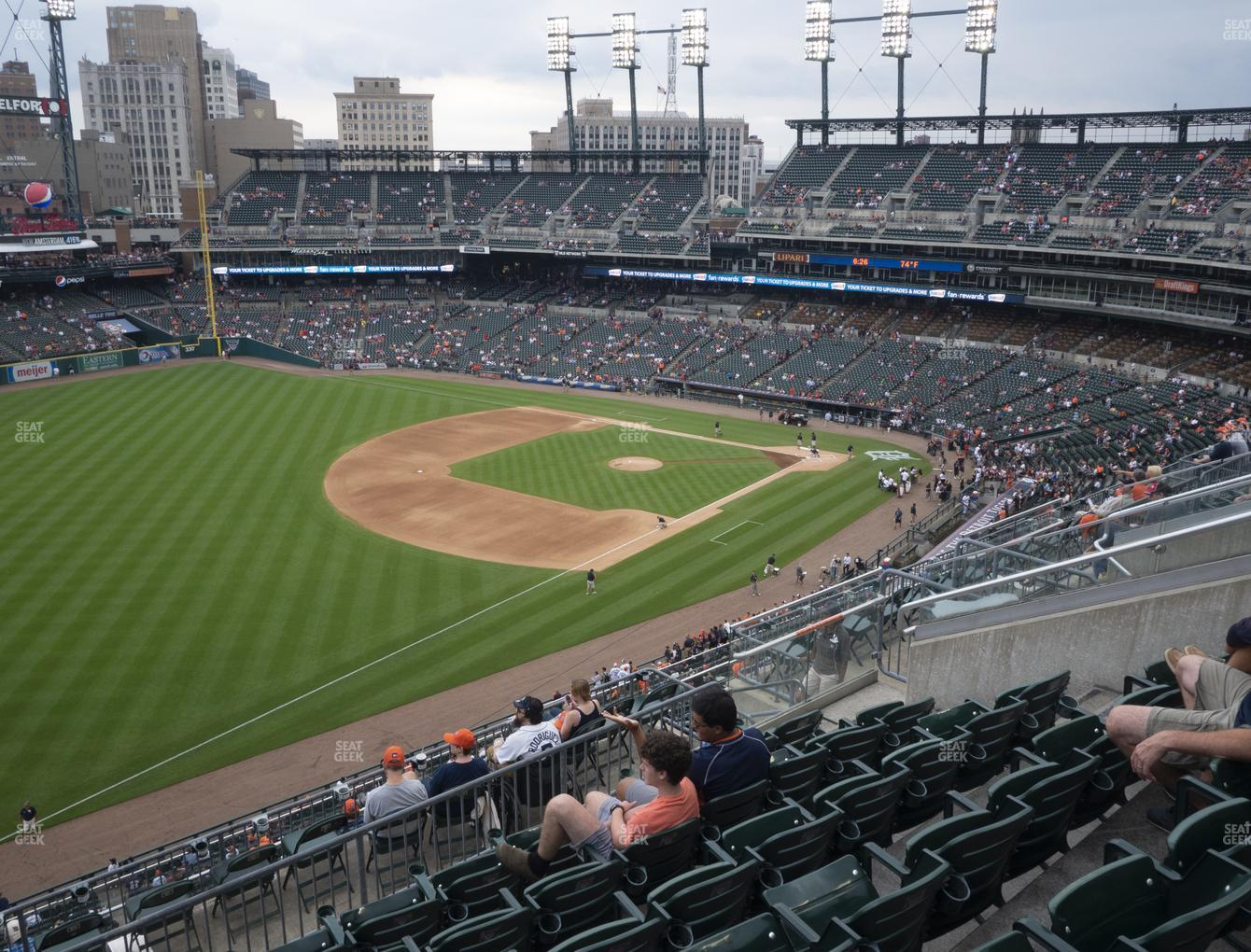 Detroit Tigers at Comerica Park Section 340 View