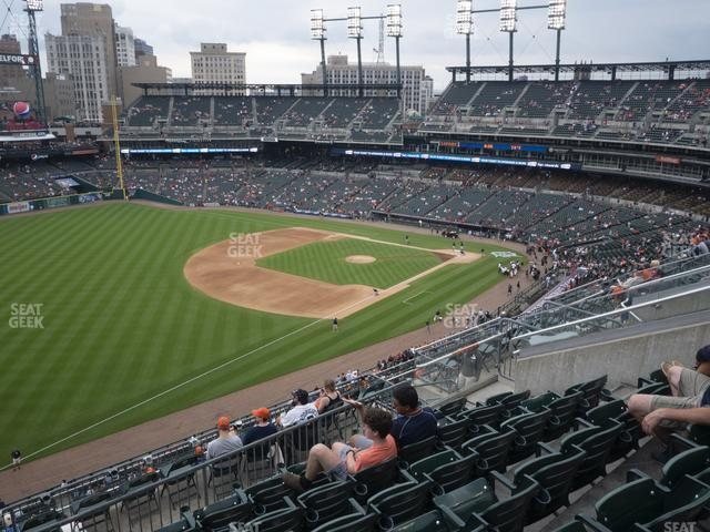 Comerica Park Section 340 view