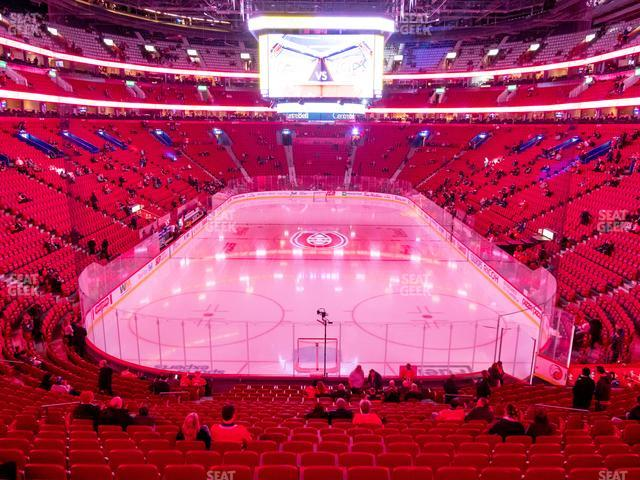 Bell Centre Section 119 view