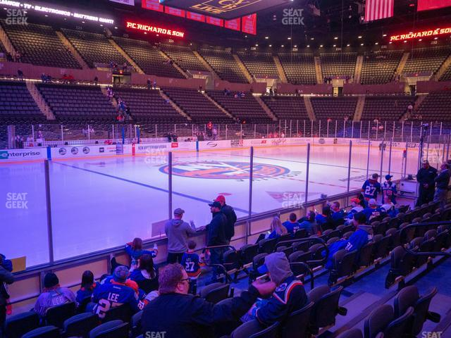 Nassau Veterans Memorial Coliseum Section 5 view