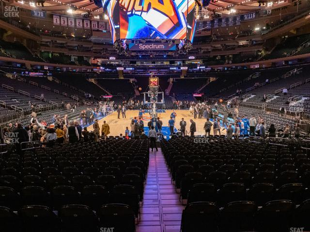 Madison Square Garden Section 8 view