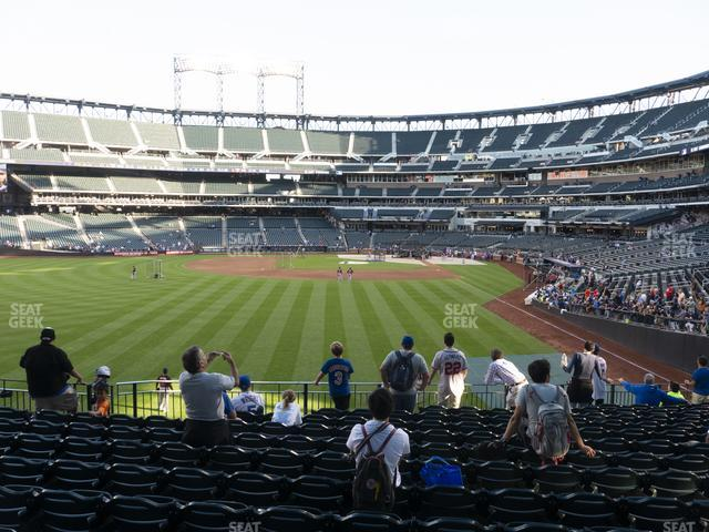 Citi Field Section 134 view