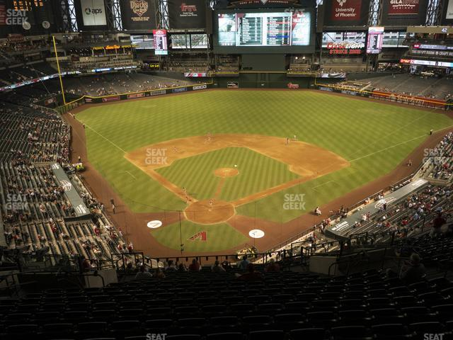 Chase Field Section 315 view