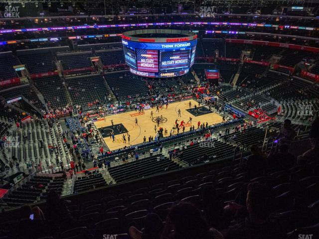 Staples Center Section 320 view