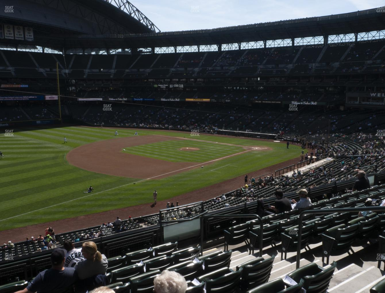 Seattle Mariners at T-Mobile Park Section 244 View
