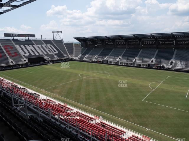 Audi Field Section 102 view
