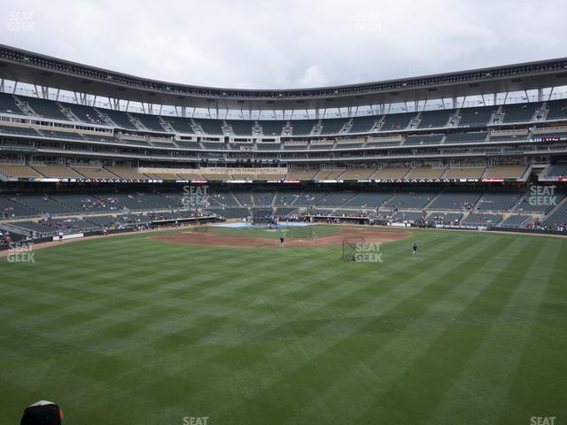 Target Field Section 132 view