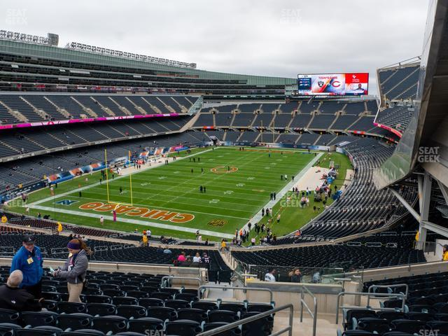 Soldier Field Section 348 view