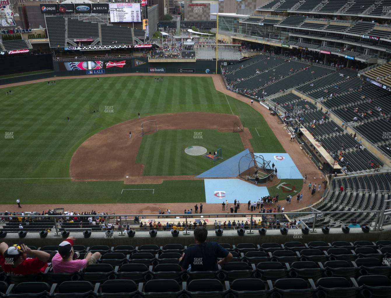 Target Field Section 320 Seat Views