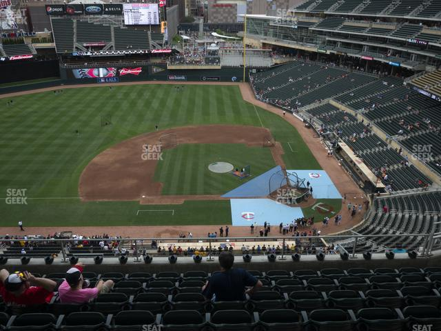Target Field Section 320 view