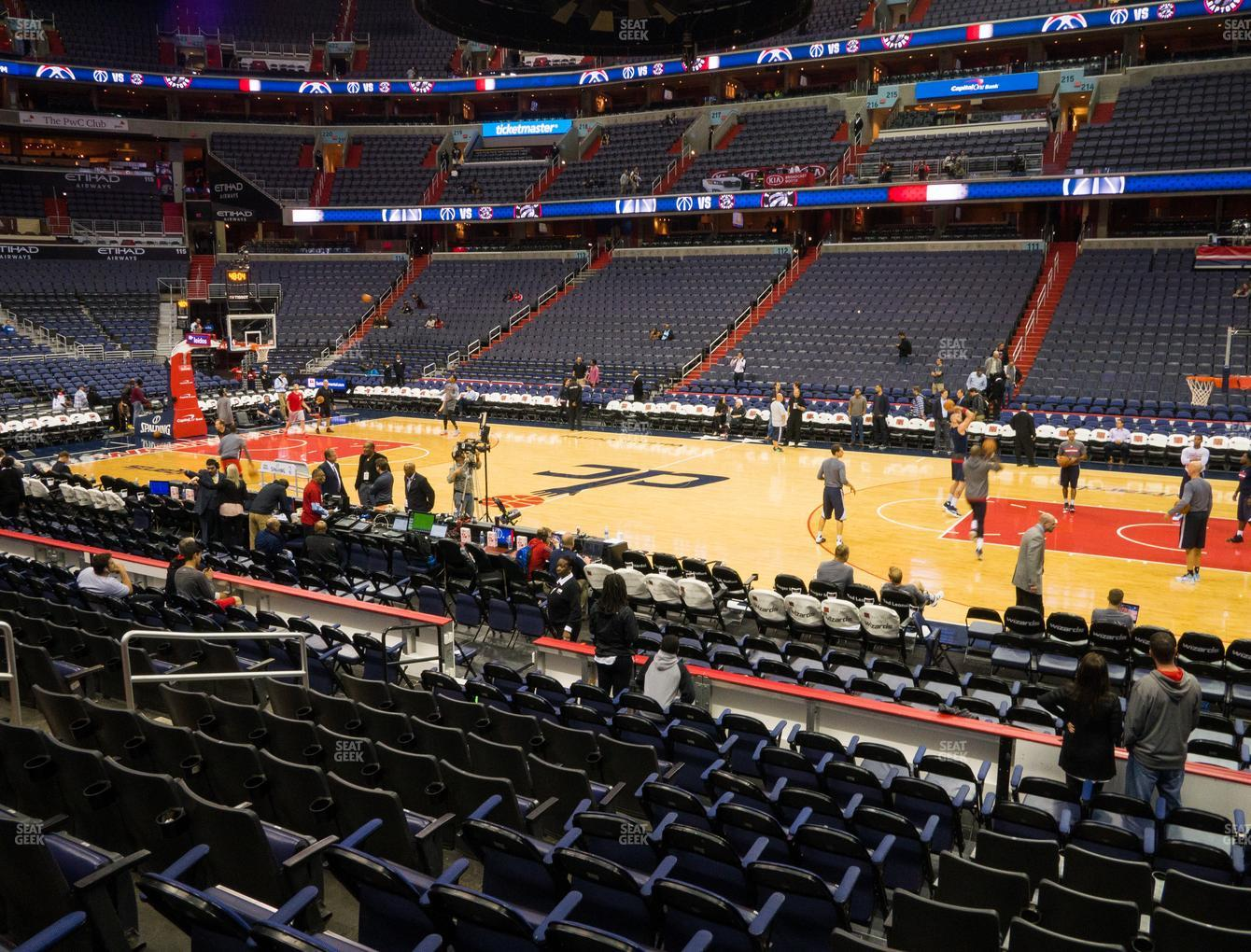 Capital One Arena Section 101 Seat