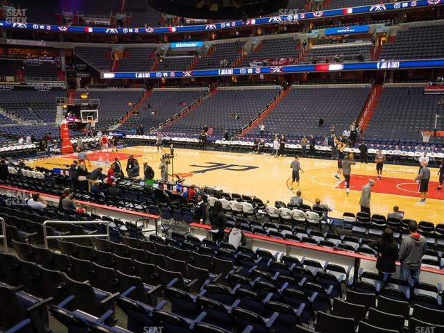 Capital One Arena Section 101 view