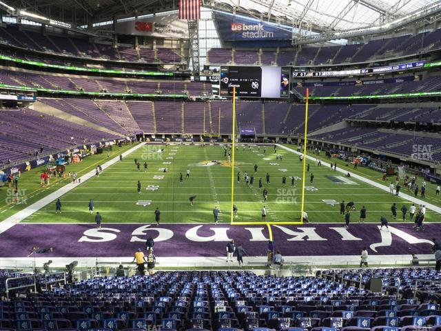 U.S. Bank Stadium Section 142 view