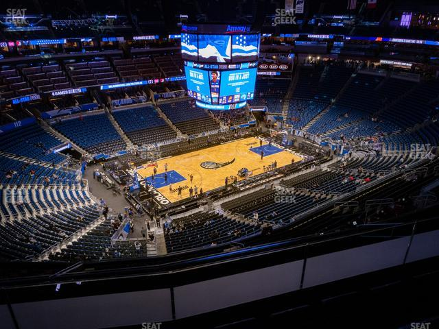 Amway Center Section 212 view
