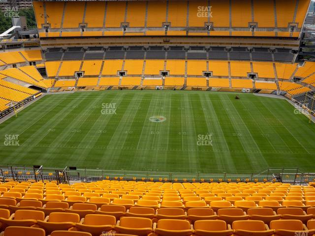 Heinz Field Section 535 view