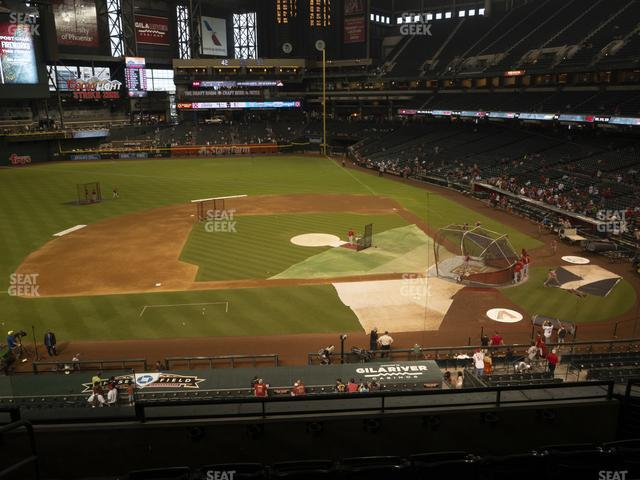 Chase Field Section 211 view