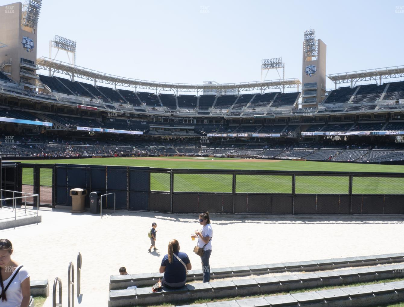 San Diego Padres at Petco Park Waterfront Lower View